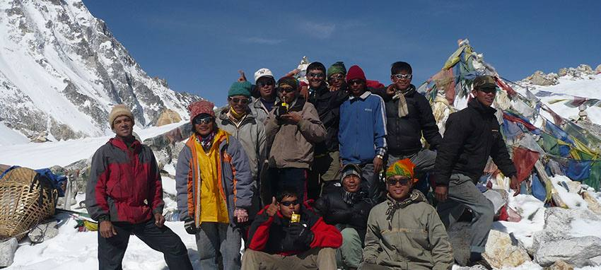 Broad Adventure team - Larkey La Pass