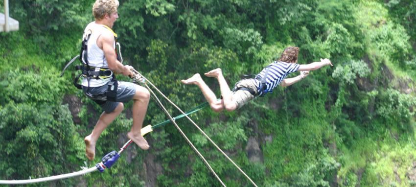 Canyon Swing - The Last Resort, Nepal