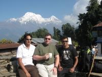 Annapurna South from Deurali