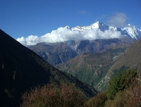 Kongde from Tengboche