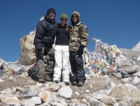 At Larkya-La (5160m)