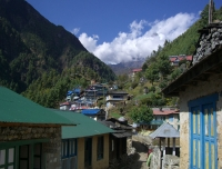 Monjo Village (On the way to Namche Bazaar)