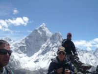 At Nakarsang Peak