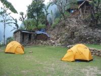 Camp site at Machha Khola