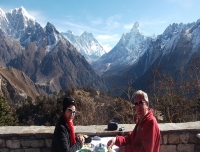 Panorama from Everest view Hotel