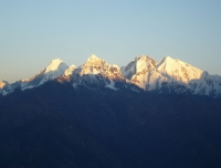 Ganesh Himal - View from Lauri Binayak