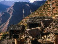 Houses of Khamjim Village