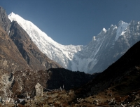 Langtang Lirung from Kyanjin Gompa