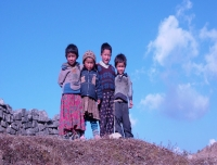 Sherpa children from Helambu Region