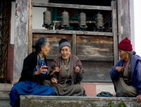 Sherpa ladies from Helambu Region