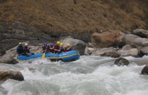 Marsyangdi River Rafting